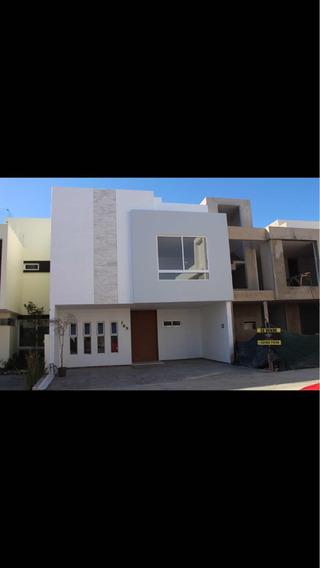 Casa Nueva En Solares, Dentro Del Fraccionamiento Zante