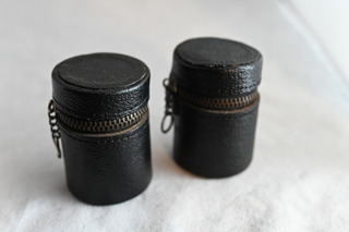Portarollo 35mm Fotografia Analogica Cuero Vintage