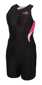 Macaquinho Triathlon Hh Feminino P Wtzl1 Preto Rosa