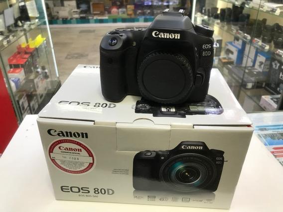 Corpo Câmera Canon 80d Nova, Na Caixa, Com Garantia