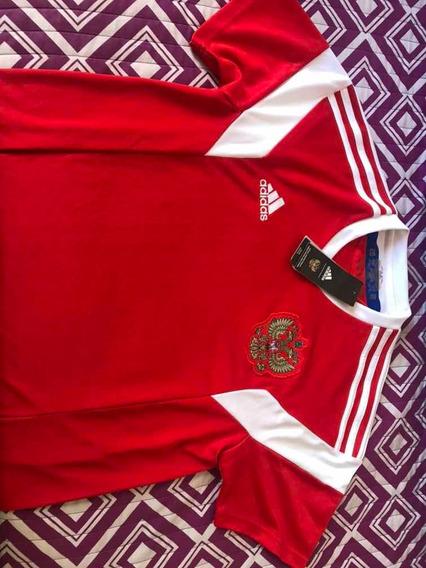 Camiseta adidas Climacool Rusia Talle S Usada Una Sola Vez!!
