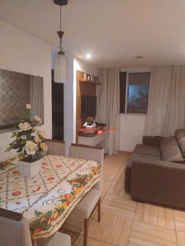 Imagem 1 de 13 de Apartamento Com 2 Dormitórios À Venda, 45 M² Por R$ 180.000,00 - Jardim Presidente Dutra - Guarulhos/sp - Ap0592