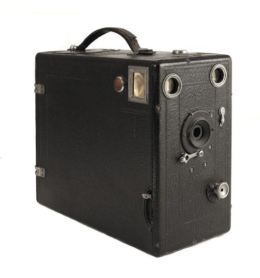 Antiga, Rara, Grande Box Câmera Ica Trilby - 1905 - Perfeita