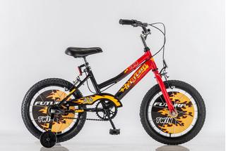 Bicicleta Bmx R16 Futura Twin Nene Rueditas Mod 4050 Kromo-s