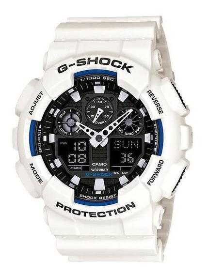 Relógio Casio G- Shock Ga-100b-7adr Completo