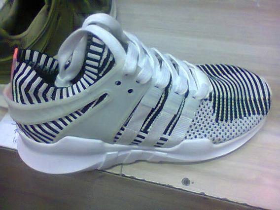 Tenis adidas Eqt Branco E Preto (zebra) Nº38 Ao 43 Original