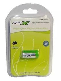 Bateria Lithium Cr123a Fx-cr-123a Flex Cameras Fotograficas