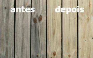 Limpador De Madeira - Deck De Piscina - Ácido Oxálico