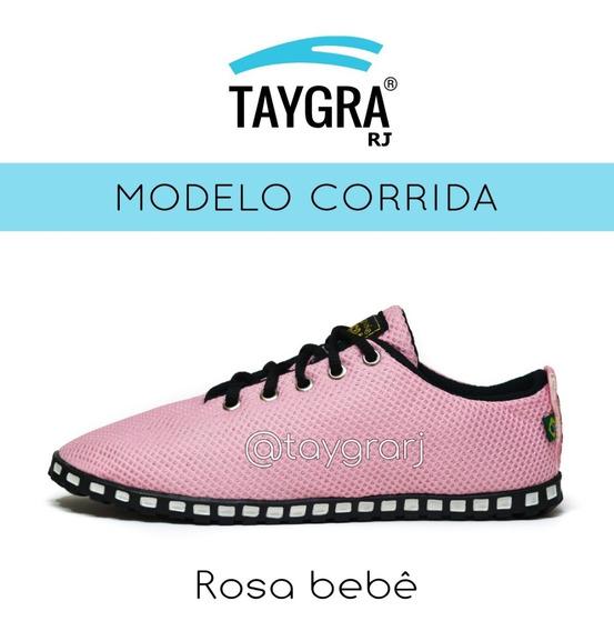 Tênis Taygra Modelo Comfort Corrida Rosa Bebe
