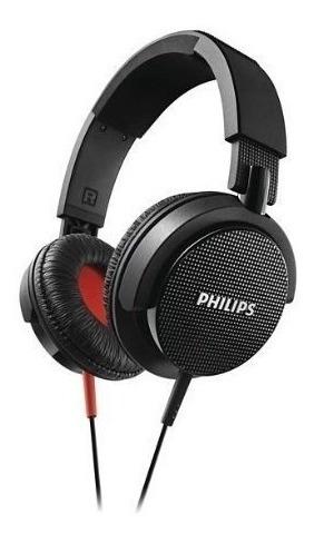 Fone De Ouvido Philips Shl3100bk Com Isolamento De Ruído