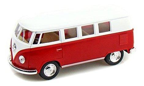 1962 Volkswagen Classical Bus 1/32 Red