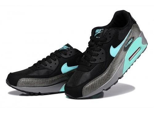 Zapatillas Nike Airmax 90 Menta Verde Gris - Nuevo En Caja