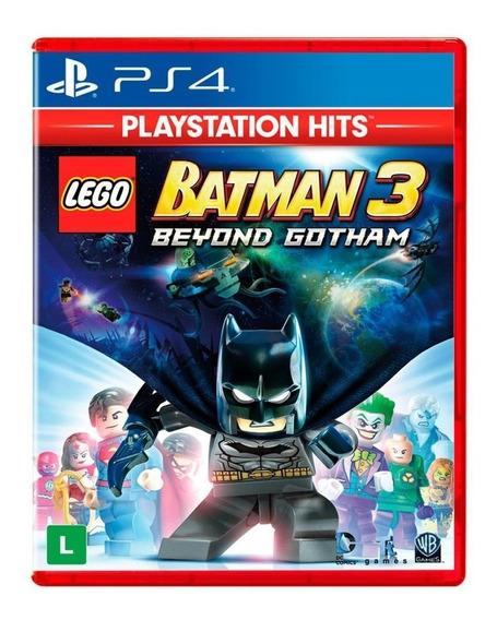Lego Batman 3: Além De Gotham | Ps4 | Envio Agora