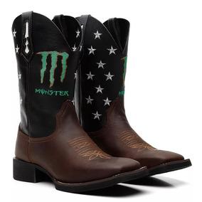 54510e9f80 Bota Texana Country Masculina Bic Quadrad Monster 33 Ao 45