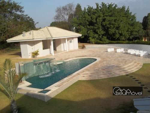 Casa Com 4 Dormitórios À Venda, 700 M² Por R$ 3.900.000,00 - Fazenda Vila Real De Itu - Itu/sp - Ca0750