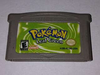 Pokemon - Leaf Green - Game Boy Advance Japan Mdisk