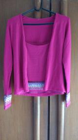 Blusa Camisa Frio Rosa