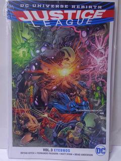 Justice League Rebirth Vol.3 Eternos Televisa Tpb