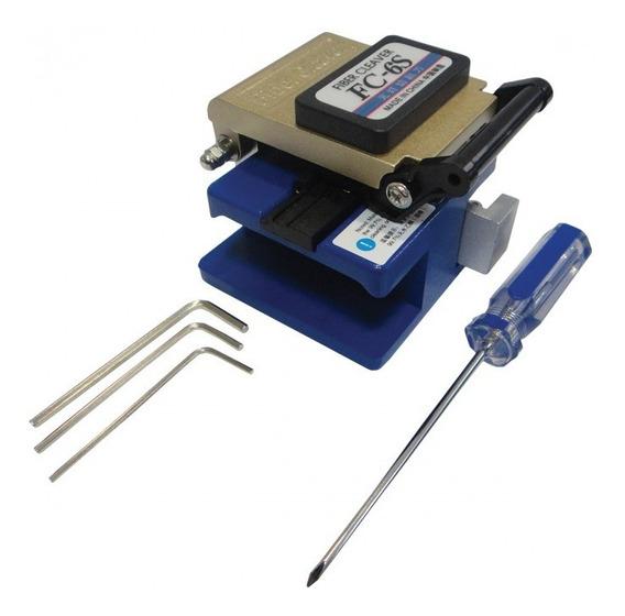 Kit Universal Montagem E Conector Ópticos Fibra Óptica Nklt