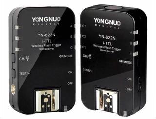 Kit 2 Radios Yongnuo Yn622n Ii I-ttl Para Nikon