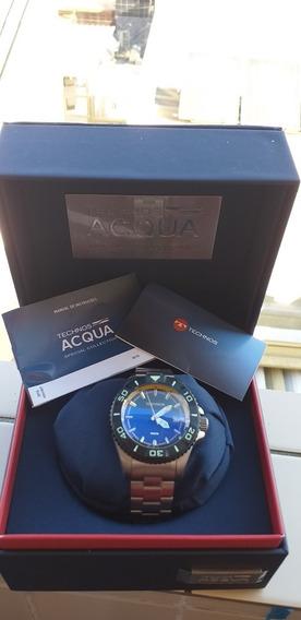 Relógio Technos Acqua Automatico 8215ah/5p 8000 Metros Zero