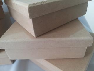 Cajas De Mdf 3mm.- 20cm×20cm×6cm (10 Piezas)