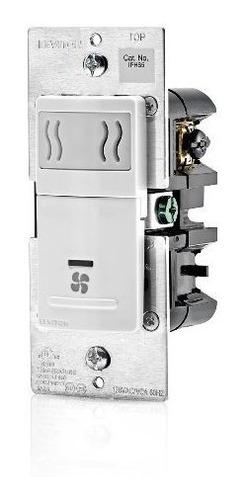 Leviton Iphs5-1lw Decora Sensor De Humedad Para Pared Y Cont