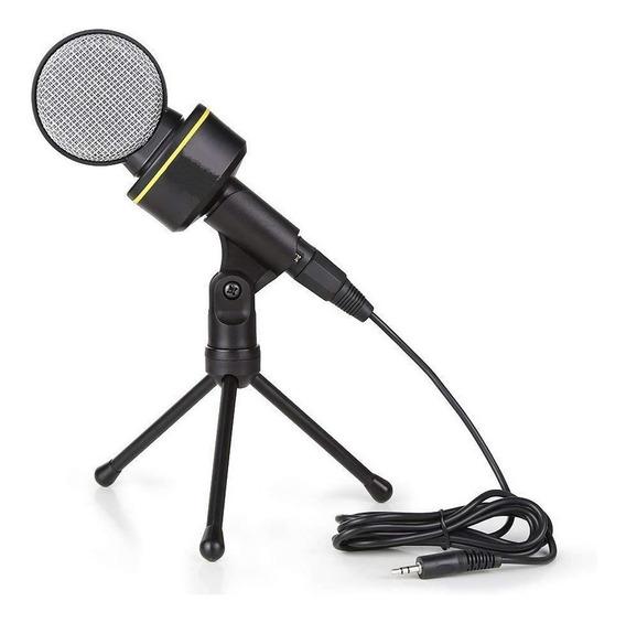 Microfone Condensador Profissional Estúdio De Gravação Pc