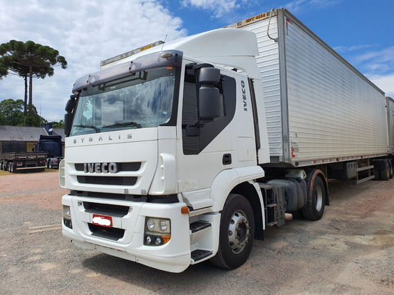 Iveco Stralis 380 Ano 2008 4x2 Toco