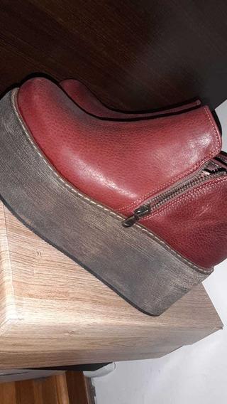 Zapatos Heyas Bordo
