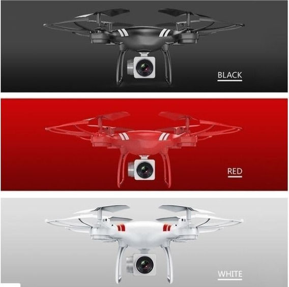 Drone Com Camera 150mts+app+comandos+20 Min Bateria