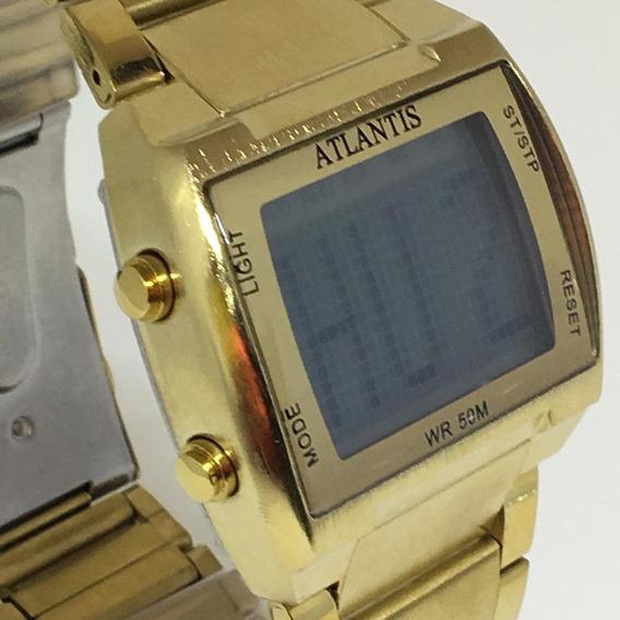 Relógio Atlantis Digital Quadrado Top!!