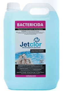 Bactericida Piscinas Jetclor Por 5 Litros