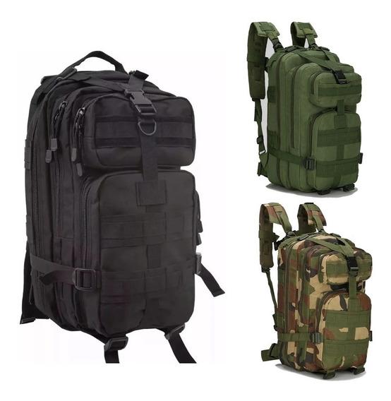 Mochila Tactica Militar Colores Calidad Premium 25l