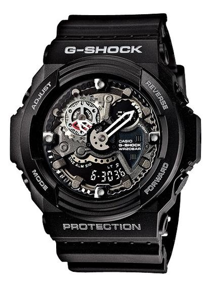 Relógio Casio G-shock Masculino Anadigi Ga-300-1adr