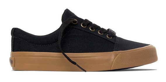 Tênis Capricho Break Suede Low Preto / Natural