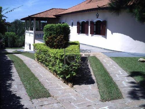 Casa Com 3 Dormitórios À Venda, 480 M² Por R$ 1.400.000 - Condomínio Ville De Chamonix - Itatiba/sp - Ca6815
