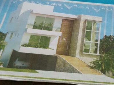 Casa Em Condomínio Residencial Em Camaçari - Ba, Alphaville Litoral Norte 2 - Ca01230