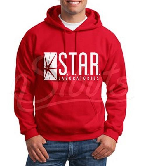 Sudadera Gorro Hombre Star Lab Flash Laboratories Inc. Envío
