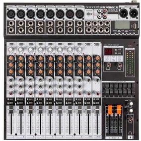 Mesa De Som Soundcraft Sx1202 Fx Usb