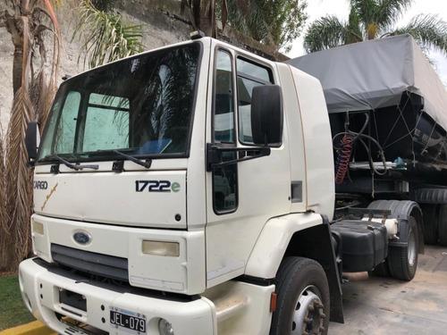 Ford Cargo 1722 2010 Enganchado Con Batea 2014 Patronelli