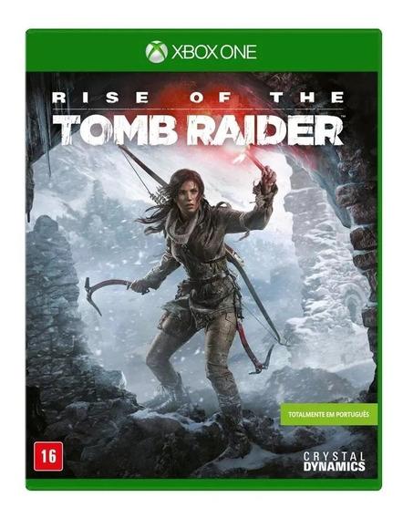 Rise Of The Tomb Raider Xbox One Nacional Lacrado Rj