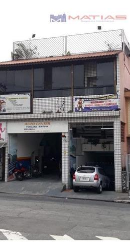 Galpão Para Alugar, 1108 M² Por R$ 18.000,00/mês - Vila Formosa (zona Leste) - São Paulo/sp - Ga0036