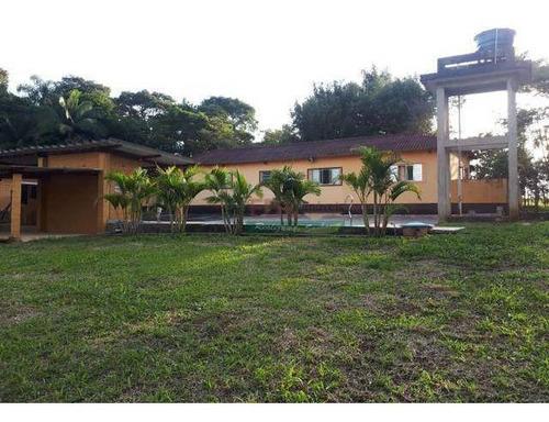 Imagem 1 de 6 de Chácara Com 4 Dormitórios À Venda, 21000 M² Por R$ 848.000 - Centro - Biritiba Mirim/sp - Ch0439