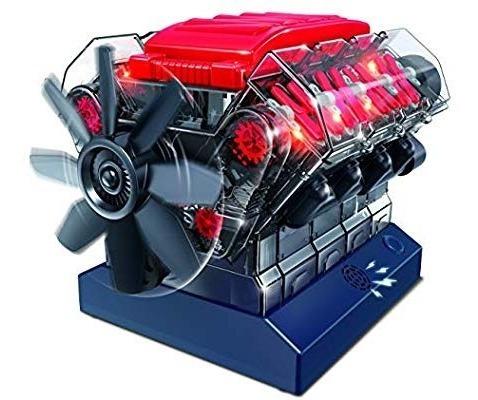 Motor Escala Armable Playz V8