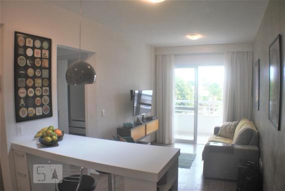 Apartamento Para Aluguel - Canasvieiras, 1 Quarto, 46 - 893115699