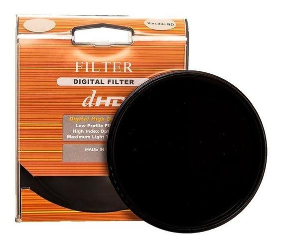 Filtro Nd 2-400 Variável 58mm