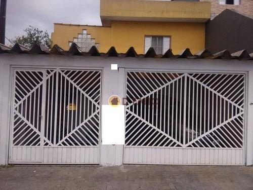 Sobrado Com 3 Dormitórios À Venda, 170 M² Por R$ 410.000,00 - Vila São João Batista - Guarulhos/sp - So0801