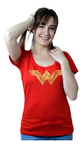 Imagen 1 de 4 de Wonder Woman Remera De Comics Para Chica - Mujer Maravilla,