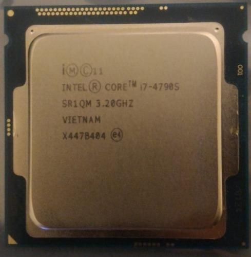 I7 4790s Turbo 4.0ghz 1150 Faço R$829 Melhor Q 4770 I5 4690k